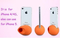 2012 Newest Egg shaped Silicone cases for iphone 4/4S/5,10pcs/lot  free shipping