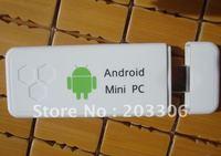New Dual core Android 4.0 Mini PC IPTV Internet Smart Google TV Box with 1GB RAM 4GB ROM