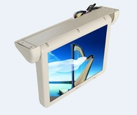 High definition 17 inch 12V TFT motorized bus lcd monitor