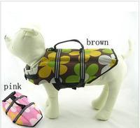 Pet dog clothes pet clothes life vest Burberry Camouflage paragraph the dog life vest new arrival