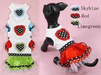 Pet clothes pet clothes skirt puppydom tank dress princess dress tank dress