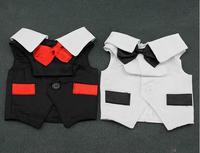 Pet dog clothes formal dress dog suit vest pet suit two-color vip
