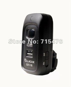 Allacax 433 MHz studio flash trigger EXT-16