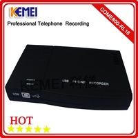 16 channels  USB Phone voice recorder for analog landline record
