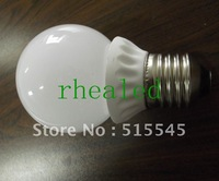 1W 2W COB LED Bubble Ball Bulbs  High Lumen Output Brightest COB Light 220v