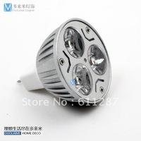 Free shipping. 10Pcs/lot 12V 3W MR16/GU5.3 White LED Light Led Lamp Bulb Spotlight Spot Light