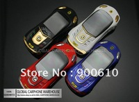 New & Unlocked Gold or Multiple COLORS SPORTS CAR FF Mini Slide MOBILE PHONE
