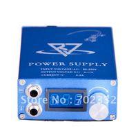 New Pro LCD Digital Tattoo Power Supply for Machine Gun Needle Grip Ink Kit  Free shipping