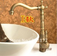 Material: brass    Restore ancient ways art basin cold and hot tap