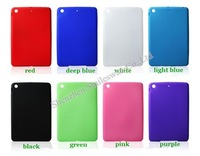 Wholesale Cheap cases soft Silicon Smart cover case for Ipad Mini 7.85'' 8 colors  Free shipping