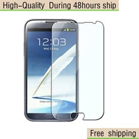 New Clear Screen Protector For Samsung Galaxy Note 2 N7100  Free Shipping DHL UPS EMS HKPAM CPAM