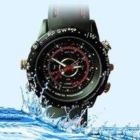 Hot sell built-in 8GB Waterproof Watch Hidden Digital Video Camera 1280x960 AVI Mini Camcorder DVR