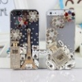 10x For iPhone 5 3D Perfume Paris Eiffel Tower Bling Diamond Case. IP5084