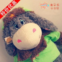 Golden doll ass cloth doll plush toy super soft gift donkey doll