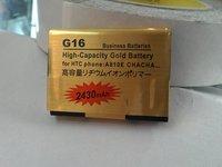 GOLD 2430MAH HIGH CAPACITY  Mobile phone BATTERY  G16 ChaCha(A810e)