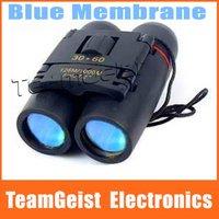 NEW Sakura 30X60 Zoom Blue Membrane anti-reflection film Mini Theater Binocular Telescope Folding Day Night Vision 126/1000m