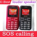 Senior Mobile Phone V100++ with Loud Speaker SOS Flashlight Camera Dual Sim Elder Phone Russian Keyboard Available