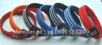 DHL free shipping 100pcs Baseball silicone bracelet,sports wristband,hologram bracelet without retail box