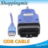 Free Shipping VAG K + CAN 1.4 OBD II OBD 2 USB Diagnostic tool Commander Car usb scanner auto diagnostic scanner obd 2 cable