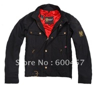 New man jacket Gangster Chaqueta Jacket  black