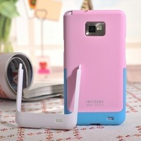 Infisens for samsung i9100 i9108 i9188 two-color colorful phone case buckle shell