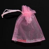 New 50pcs Luxury Organza Wedding Favor Xmas Gift Bags Jewellery Pouch 7x9cm 120409