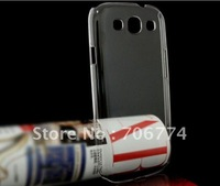 30pcs/lot Crystal Clear Hard Case Snap On Cover for Samsung Galaxy S3 III i9300 3 colors