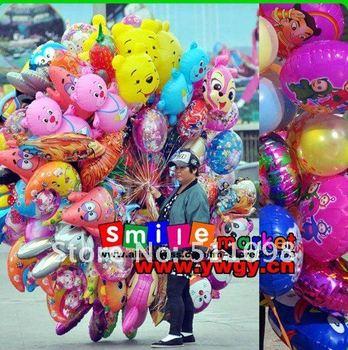 balloon FREE SHIPPING MIX STYLES 100PCS SMALL STOCK HOT SALE walking animal balloons