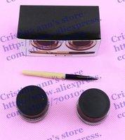 30SET/LOT Makeup Long-Wear Gel Eyeliner Set 3gX2  Black Ink & Sepia Ink  Free shipping