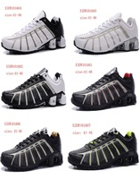 Free shipping wholesale Men&#39;s Shox shoes, men&#39;s nz O Leven shoe Athletics  shox original plating nz running shoes