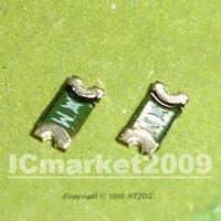 10 PCS 1206 0.5A 500MA 13V  PolySwitch SMT SMD Resettable Fuse