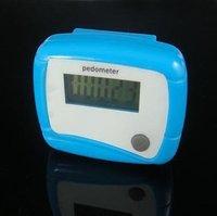 Portable Pedometer Mini Step Counter Digital Electronic Walking Calories Counters Free Shipping - 500pcs
