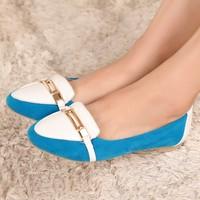 Autumn flat heel single shoes female princess shoes fashion vintage shallow mouth female shoes casual shoes