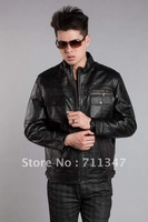 Freeshipping! Humitre New Fashion men's genuine leather jacket sheep leather men clothes EX-1805-B
