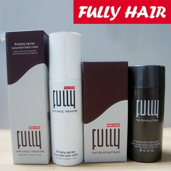 FULLY Hair Thickening Fiber/ Hair Building Fibers/Natural Hair Fibers