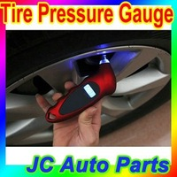 Free shipping LCD digital display auto car tire pressure gauge/ digital tire gauge