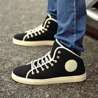 High-top shoes male high skateboarding shoes male martin shoes boots male shoes hip-hop shoes hiking shoes