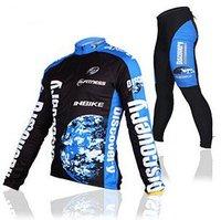 freeshipping full sleeve winter windproof cycling jersey&pants set/Lycra cool-max quick dry&ventilate bike S,M,L,XL,XXL,XXXL