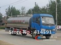 JieFang 4X2 milk tank truck 9.77m3