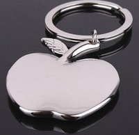 Creative apple keychains Christmas gift can add LOGO for company free shipping