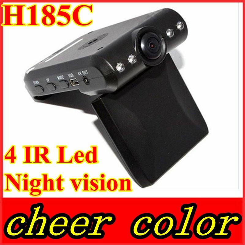 H185C Car black box 140 degree 4 IR Led Night vision with competitive price(China (Mainland))