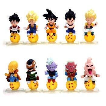Dragon Ball Z Dragonball Lot Action Figure Set Of 10pcs Last one Set!