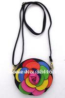 Сумка через плечо Korea Style Ladies' Rose Shape Clutch Chain Purse Handbag Shoulder Bag 7 Colors 14*13cm, 1314