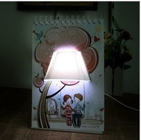 50pcs/lot DHL Free shipping Novelty calendar bedroom lamp LED desk lamp Lovely night light Fashional gift