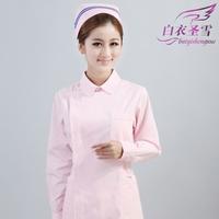 winter long-sleeve nurse clothing,eco-friendly fabric beauty services