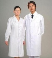 doctor clothing,long-sleeve nurse clothing physician services lab coat white coat