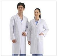 doctor nurse Standard medical white coat male Women long-sleeve short-sleeve work wear uniform physician services
