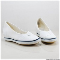 Nurse shoes white wedges,simple design and beautiful looking feel