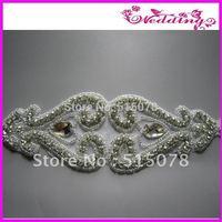 2013 New Arrive Bridal Motif Glass Stone Shine Sashes Wedding Belt