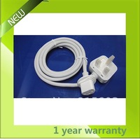 UK Original 3Prong  Extension Power Cord cable For  iMac all series hot sell free shipping Mini order 1Pcs/Lot